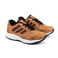 Mens Tan Black Shoes
