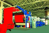 Stenter (Heat Setting Stenter, Textile Finishing Machinery)