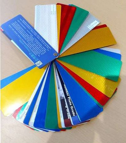 High Intensity Prismatic Reflective Sheeting Certifications: Iso 9001:2015 Tuv Sud