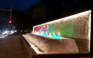 Water Fountain Light