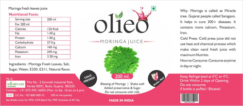 Moringa Leave Juice