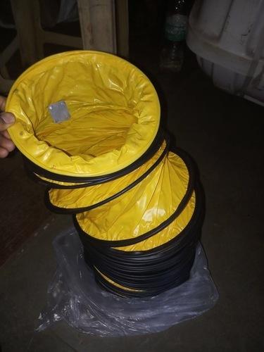 PVC ducting of ventilation fan