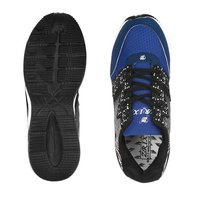 Mens Black & Blue Shoes