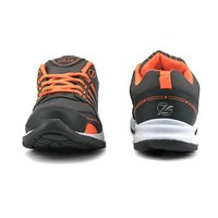 Mens Grey & Orange Shoes