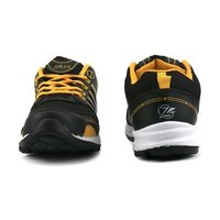 Mens Black & Yellow Shoes