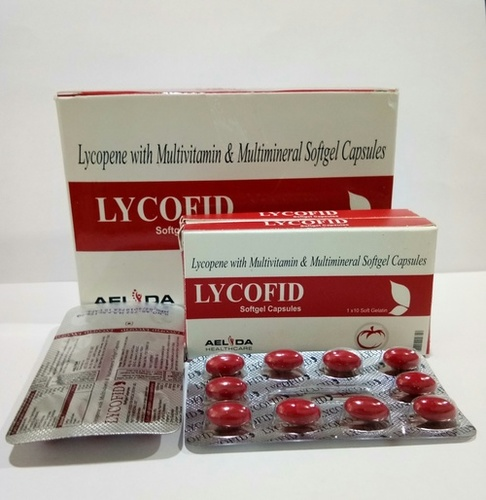 Lycopene Multivitamin Multimineral Softgel Capsules