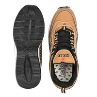 Mens Tan & Black Shoes