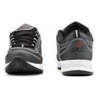 Mens Grey & Black Shoes