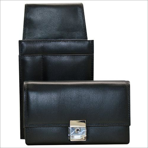 Ladies Black Leather Wallets