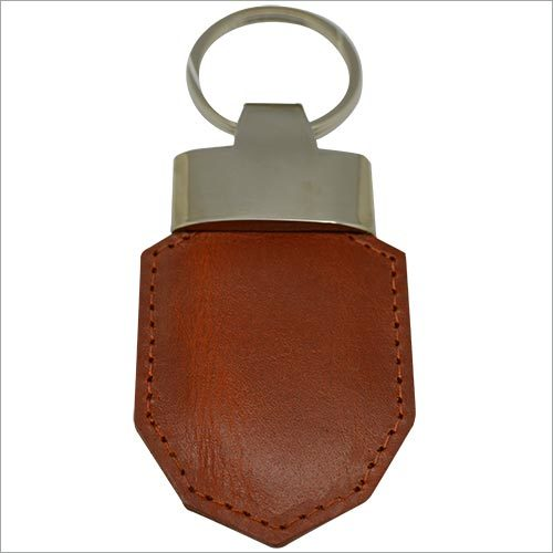 Genuine Leather Key Ring