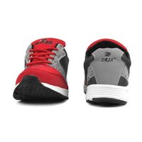Mens Grey & Red Sports Shoes