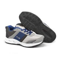 Mens Grey R Sports Shoes
