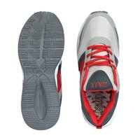 Grey & Red Phylon Sole Sports Shoes