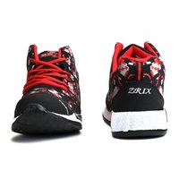 Mens Black & Red Sports Shoes