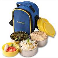 Bag Tiffin With 4 Containers