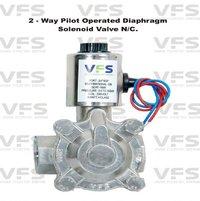 2 Way Pilot Operated Diaphragm Type Solenoid Valve