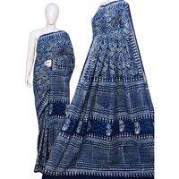 Ladies Cotton Block Print Sarees