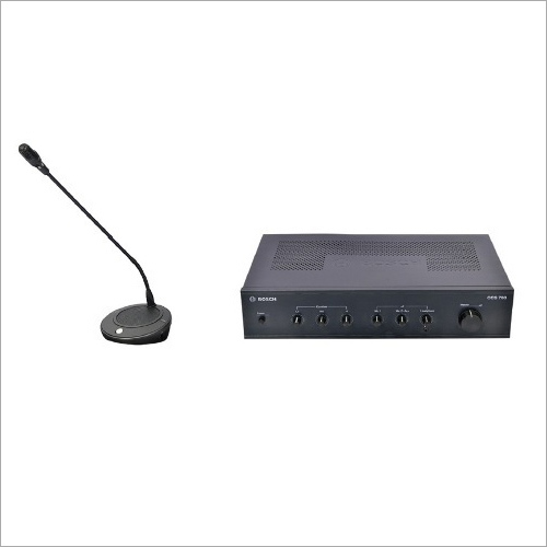 Bosch Analog Audio Conference System