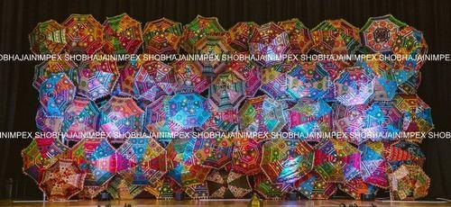 Rajasthani Wedding Umbrella Props Stage