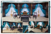 Wedding Sangeet Ceremony Low Furniture