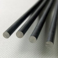 Stainless Steel Black Round Bar