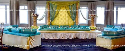 Stage Decoration for Mehandi Function