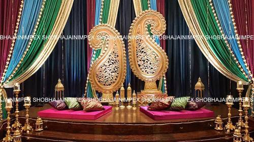 Asian Mehndi Stage Decorations