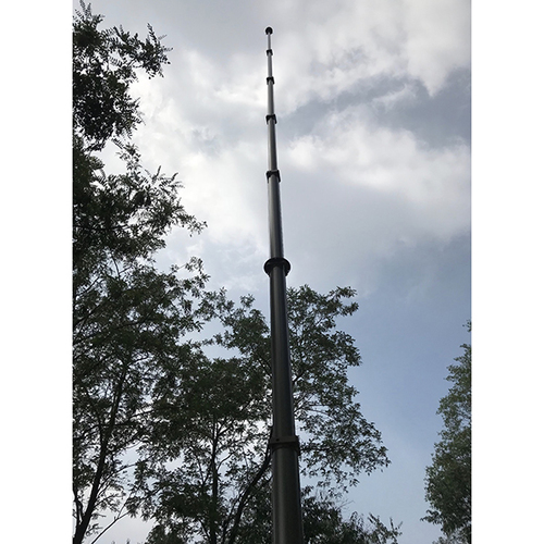 10m Manual Operation Telescopic Mast