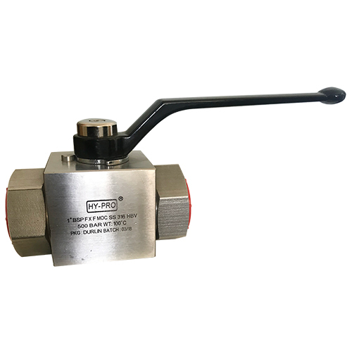 1 BSP FF High Pressure Ball Valves
