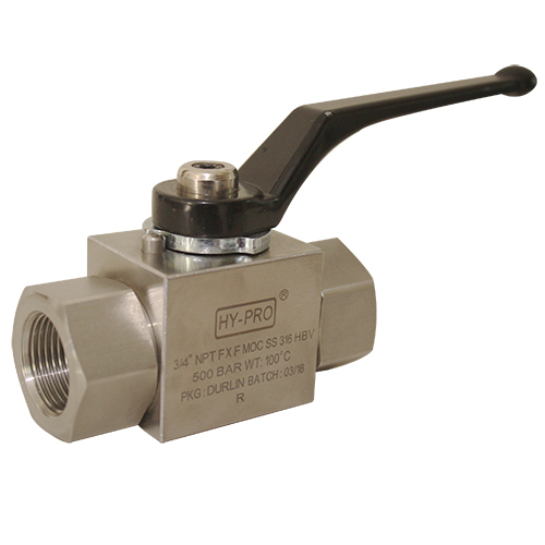 3/4 BSB FF High Pressure Ball Valves