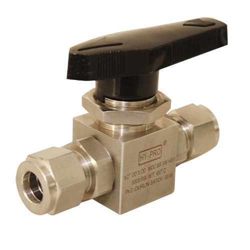 1/2 OD OD Instrument Ball Valves
