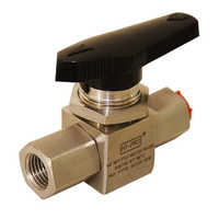 1/4 NPT F F Instrument Ball Valves