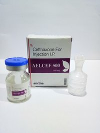 Ceftriaxone 500mg Injection