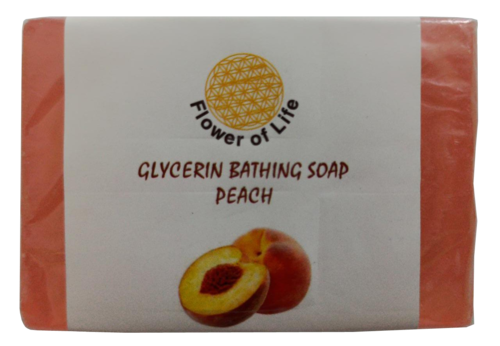 Peach Glycerin Bathing Soap