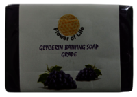 Grape Glycerin Bathing Soap