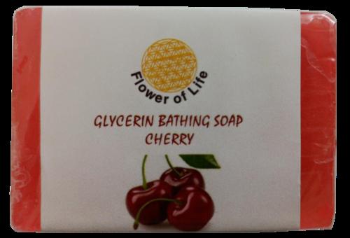 Cherry Glycerin Bathing Soap