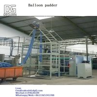 knit fabrics dyeing finishing tubular balloon padder squzeeing  machine