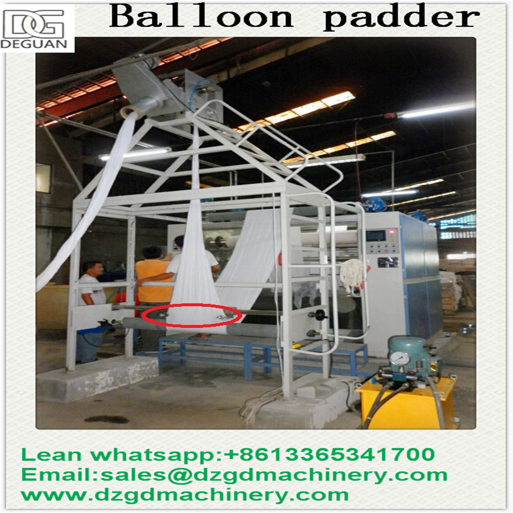Tubular Balloon Squeezing Machine