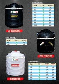 Kissan ISI water tank