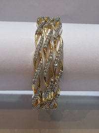 Beautiful American Diamond Stone Bangle