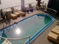 Swimming Pool on Ship Deck