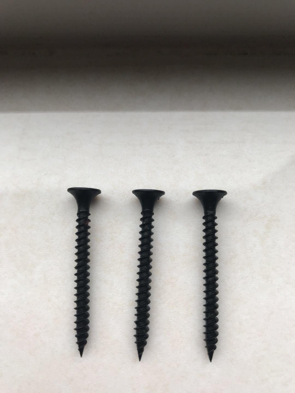 Black Phosphated Drywall Screws Gypsum Screws