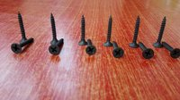Black Phosphated Drywall Screws Gypsum Screws
