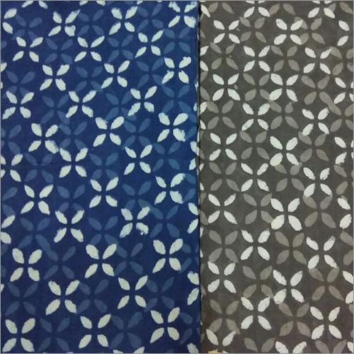 Block Printed Cotton Dress Material