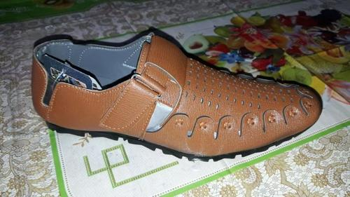 Casual Leather Roman Sandal