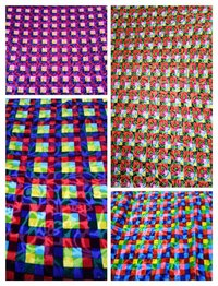 Stripe velvet fabric