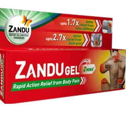 Zandu Gel Rapid Action Relief
