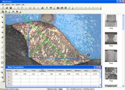 Weld Penetration Software
