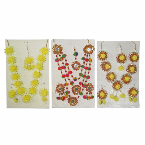 Ladies Flower Jewellery Set