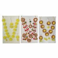 Ladies Flower Jewellery Set